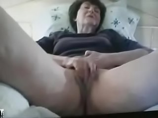 67 year old English grandmother plays with me on Skype,