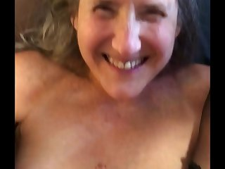 Beautiful Mature Silversquirter Gets Fucked And Creampied In Her Ass