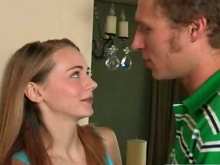 Stepmom punishes teen with a strapon after she caught her fucking