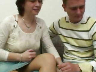 Danica a czech housewife seduced a big dick boy