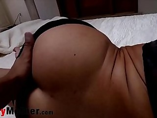 Mom and Son at Midnight Sex