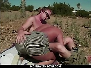 Moms With Boys Horny MILF Girlfriend Wild Outdoor Hardcore Fun