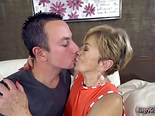 Old Granny Bitch Still Loving Hardcore Sex