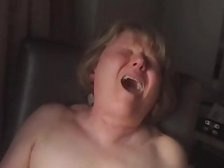 Close up orgasm face