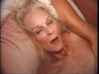 Barbie takes on two guy'_s in her old holes.